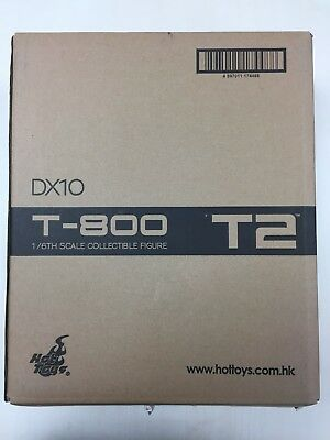 AU871.58 • Buy Hot Toys DX10 DX 10 T800 T 800 Terminator 2 Judgement Day Arnold NEW
