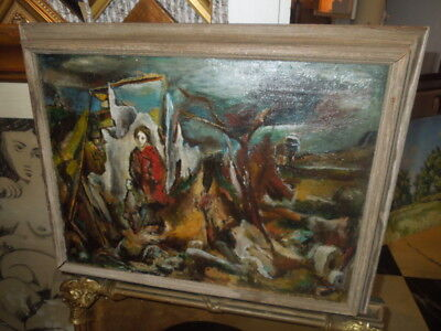 $1200 • Buy 1948, Oil Painting By John Cunning Of  Dogtown Common, Gloucester,MA