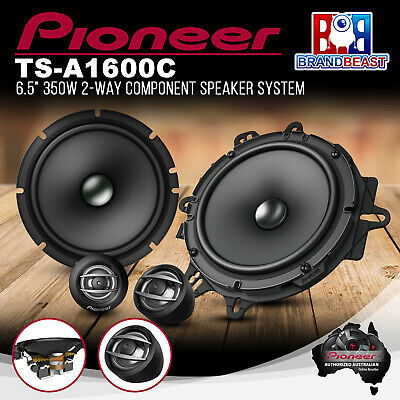 AU133.85 • Buy Pioneer TS-A1600C 350W 6.5  2-Way Component Speaker System