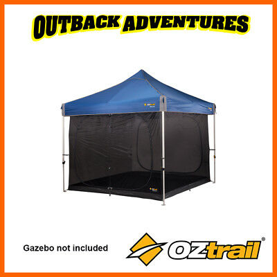 AU117 • Buy Oztrail Screen House Inner Kit 3.0m Fits 3m Gazebo Not Included New Model
