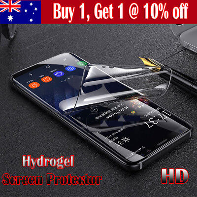 AU2.75 • Buy HYDROGEL AQUA FLEX Screen Protector For Samsung Galaxy J2 Pro A8 J8 2018