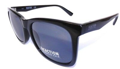 3e8ab337dc NEW Men s KENNETH COLE KC 1324 Black Square Retro Sunglasses • 22.80