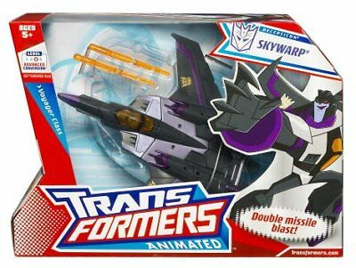 £36.57 • Buy Transformers Animated Voyager Class Figure Skywarp Decepticon - NEW IN BOX