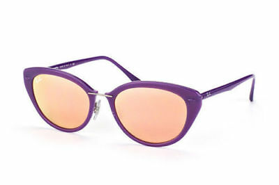 $79.99 • Buy NEW Genuine Ray Ban RB4250 60342Y 52 Shiny Violet Womens Sunglasses Glasses