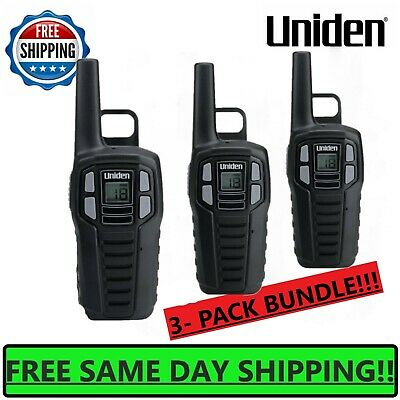 $ CDN65.84 • Buy UNIDEN Long Range 3-pack Rechargeable Two Way Radio Walkie Talkies 16 MILE 2-Way