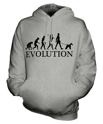 $49 • Buy Wire Fox Terrier Evolution Of Man Unisex Hoodie Mens Womens Ladies Dog Gift