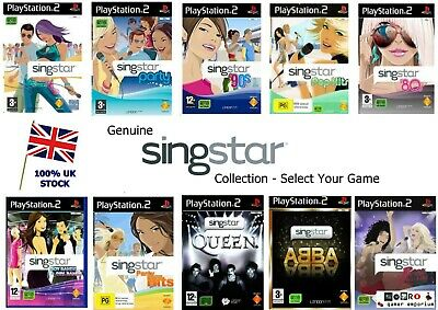 £7.45 • Buy SINGSTAR SERIES - PS2 / PS3 GAMES - Legends Rocks 80s 90s Party Abba - 500+ SOLD