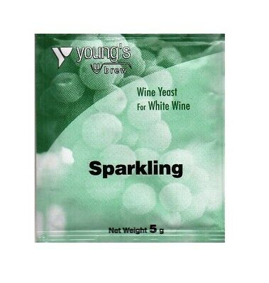£3.99 • Buy 5g Sparkling Wine Yeast - Known As Champagne Yeast - Home Brew Wine Making