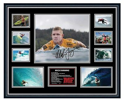 AU94.99 • Buy Mick Fanning Farewell Signed Photo Limited Edition Framed Memorabilia