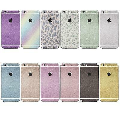 AU7.99 • Buy Urcover® Apple Huawei Glitter Foil Rainbow Colored Diamond Bling Handy Sticker
