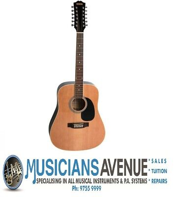 AU224 • Buy Redding RED-512 12 String Acoustic Guitar + Free Online Lessons