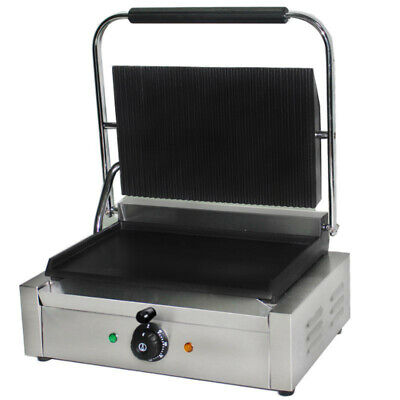 Extra Wide Commercial Electric Panini Grill / Contact Grill / Toastie Maker • 159.99£