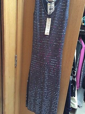 £55 • Buy BNWT Ladies Size 8 Nougat Cocktail/ Party Sequence Dress