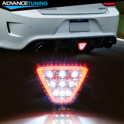 $34.99 • Buy Fits Most Vehicles Triangle Red LED Rear Tail 3RD Brake Lights Stop Safety Lamp