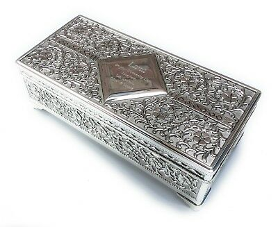 Personalised Traditional Antique Jewellery Trinket Box - Engraved Ladies Gift • 27.99£