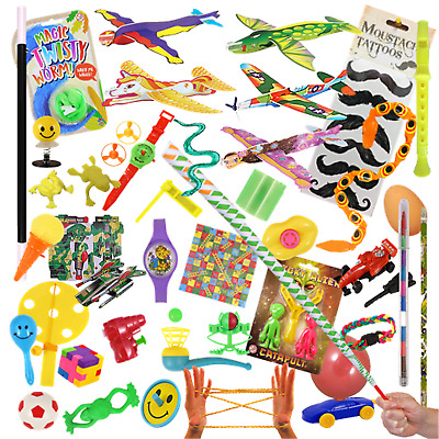 6 Party Bag Fillers Kids Xmas Stocking Toy Gift Loot Prizes Lucky Dip Tombola • 2.79£