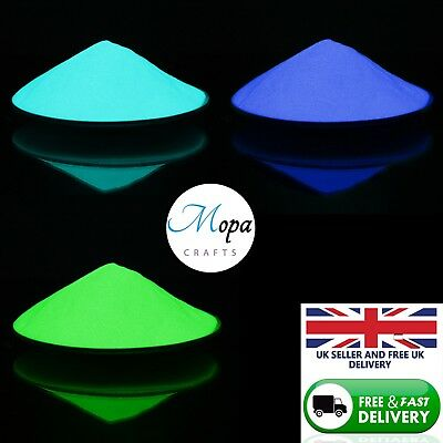 £3.75 • Buy High Quality Glow In The Dark Pigment Powder For Paint,Nail,Art,Crafts, Acrylic