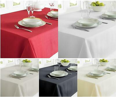 Red Grey White Fabric Table Cloth Table Cover Rectangular Table Dining Tableware • 4.39£