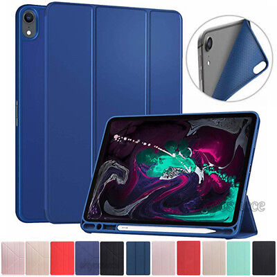 AU17.69 • Buy For IPad Pro 11  2018 5/6th Gen Leather Stand Slim Case Cover With Pencil Holder