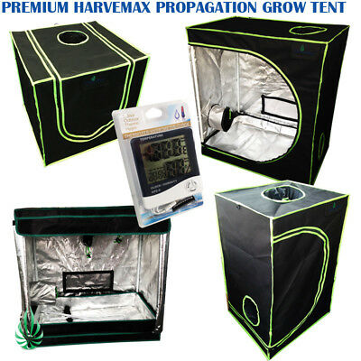 AU94 • Buy Quality Harvemax Hydroponic Mylar Seedling Cutting Propagation Grow Tent & Meter