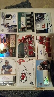 $1 • Buy Inventory Blowout!!  GAME USED JERSEY AUTO # RC LOT