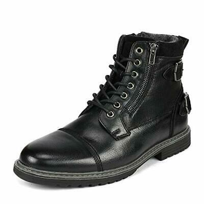 $32.13 • Buy Bruno Marc Men Motorcycle Combat Riding Oxford Dress Chelsea Ankle Leather Boots