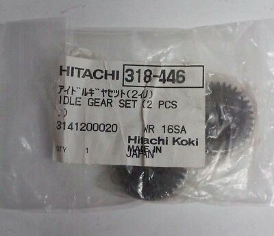 Hitachi 318-446 Idle Gear Set 2 Pcs. For Impact Wrench • 59.82£