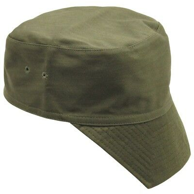 £3.99 • Buy French Military Army / Foreign Legion Style Green Peaked Cap Combat Field Hat