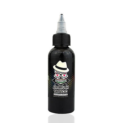 £13 • Buy OPHIR 60ML Black Airbrush Body Art Paint Pigment For Temporary Tattoo Painting
