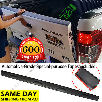 AU66 • Buy Black Rear Tailgate Cover Trim Fit Ford Ranger T6 WILDTRAK PX2 MK1 MK2 2012-2019