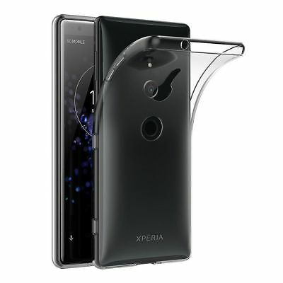 AU3.99 • Buy Soft Gel Clear Transparent Case Cover For Sony Xperia XZ2