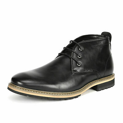 $16.79 • Buy Bruno Marc Mens Military Combat Chelsea Chukka Oxfords Dress Riding Ankle Boots
