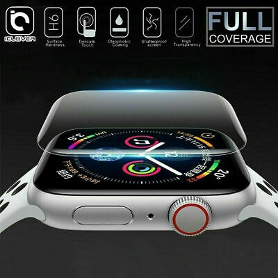 $ CDN2.59 • Buy For Apple Watch Series 1 2 3 4 3D Full Cover Tempered Glass Screen Protector Ca