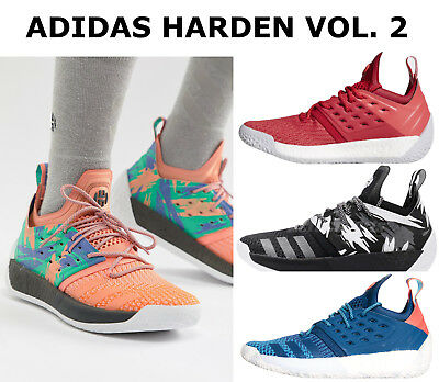 94630fb59c25 Adidas Harden Vol 2 Mens Basketball Shoes Boost Cushioning Sock-Like Fit  NEW • 83.97