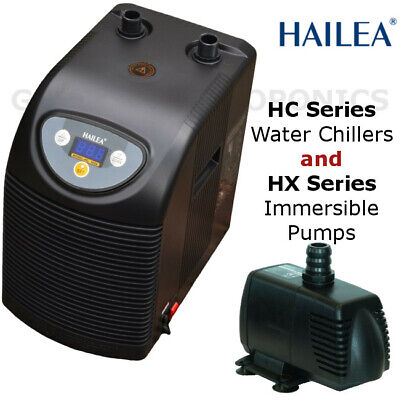 Hailea HC Series Water Chillers And HX Series Submersible Pumps • 275£