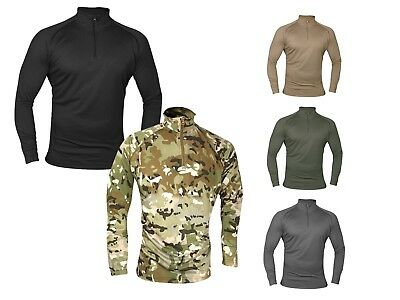 Viper Tactical Military Base Layer Armour Long Sleeve Wicking Top Under Shirt UK • 14.95£