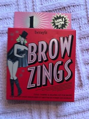 Benefit Brow Zings (Total Taming & Shaping Kit For Brows) - #1 • 20£