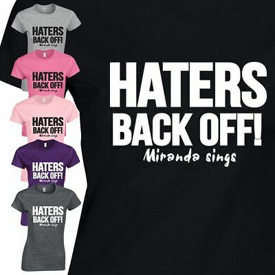 £6.99 • Buy Haters Back Off T Shirt Present Suit Party Costume Christmas Fancy Ladies