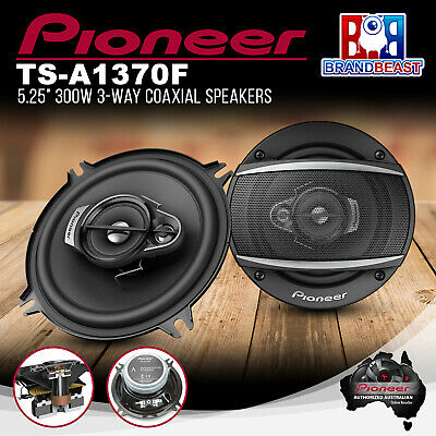 AU94.80 • Buy Pioneer TS-A1370F 300W 5.25  3-Way Coaxial Speaker System