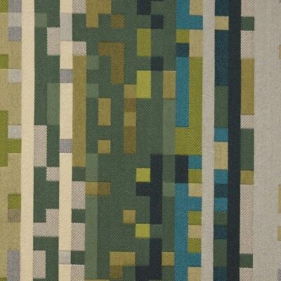 $19.99 • Buy Maharam Anagram Electric Green Geometric Upholstery Fabric BTY SF659