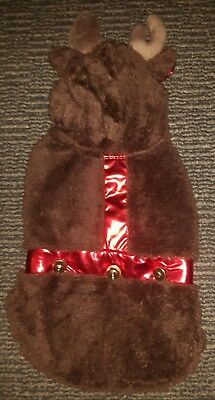 £3.79 • Buy Small Dog Xmas Reindeer Outfit