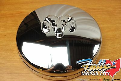 $49.95 • Buy 02-18 Dodge Ram 3500 - 5500 Front Dually Chrome Hub Center Cap Replacement OEM