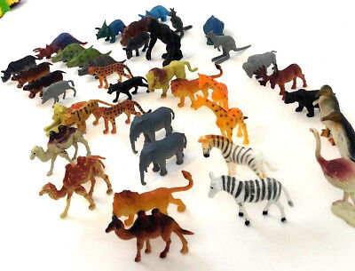 miniature toy animals