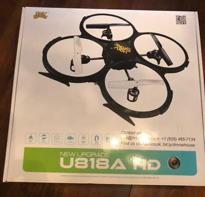 AU94.37 • Buy Holy Stone U818A Drone 720P HD Camera 2.4 GHz 6-Axis Gyro RC Quadcopter NIB