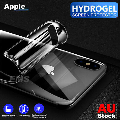 AU4.95 • Buy Back Rear Hydrogel Screen Protector For Apple IPhone 6 6S 7 8 Plus XR X XS Max