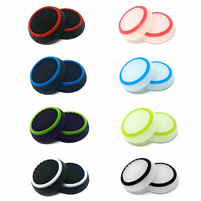 £1.69 • Buy 1 X Pair Of Rubber Controller Thumb Grips PS4 PS5 Cover Pads Analog Xbox One UK