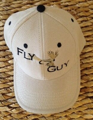 £11.50 • Buy Embroidered Fly Guy Fishing Tan Baseball Cap Hat