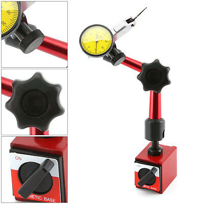 £18.59 • Buy Precision Dial Test Indicator DTI Gauge + Flexible Magnetic Base Holder Stand
