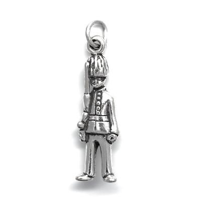£9.52 • Buy Beefeater Palace Guard UK Soldier Large Charm Or Pendant Sterling Silver 925