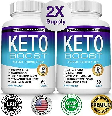 $17.97 • Buy Keto BOOST Diet Pills CUTS Advanced Ketosis Weight Loss Supplement Fast